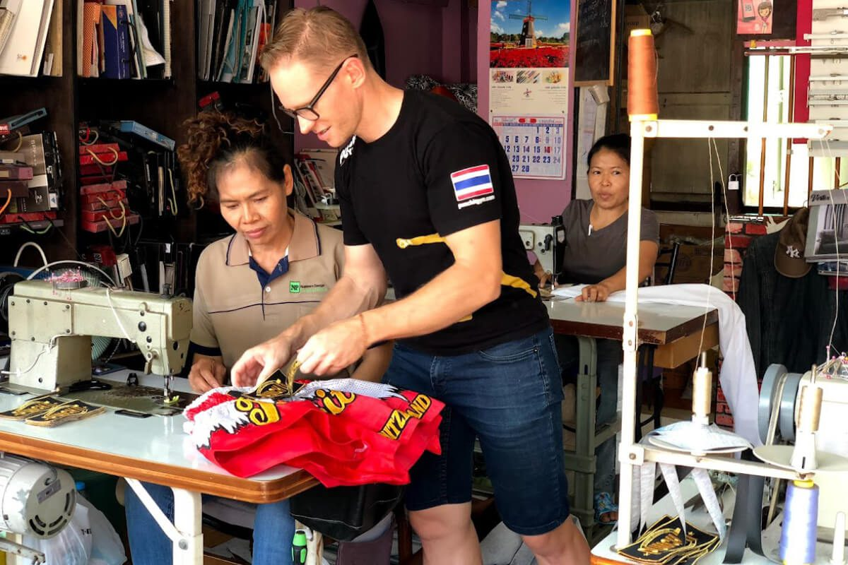 Can I work and train in Thailand