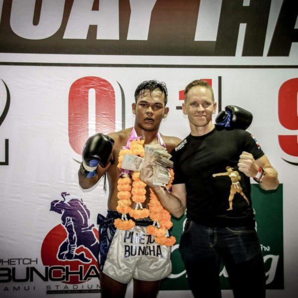 Muay Thai professional fighter as a foreigner in Thailand
